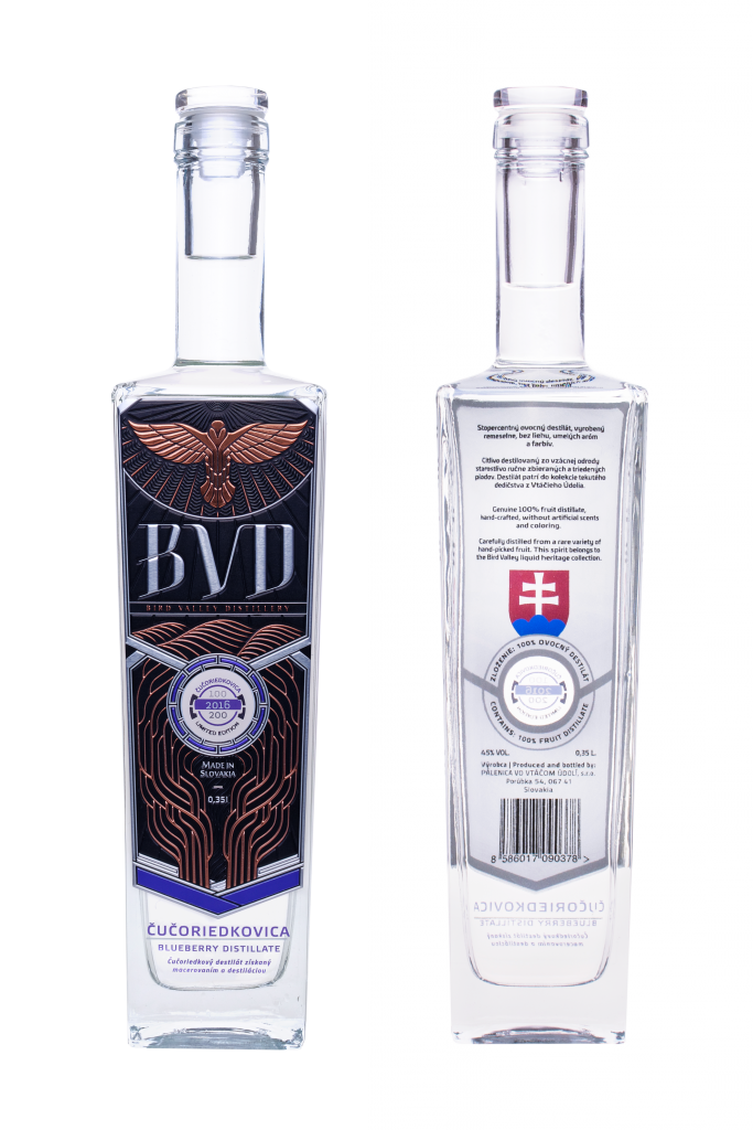 BVD Cucoriedkovica destilat