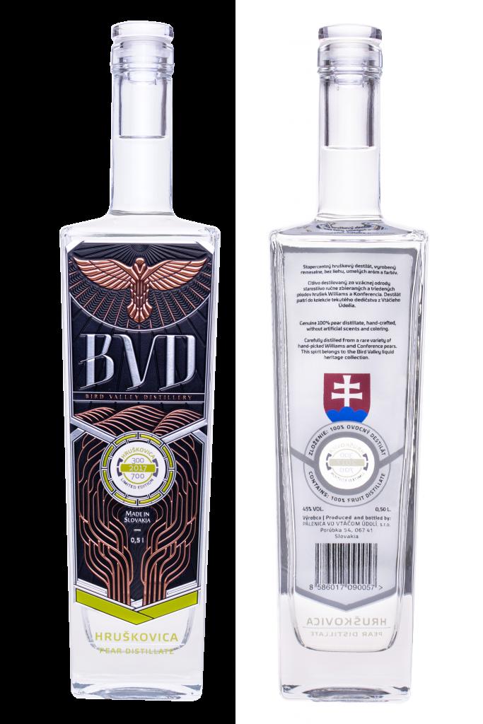 BVD Hruskovica destilat 0,5l