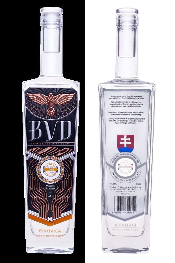 BVD Pivovica destilat 0,5l 45%