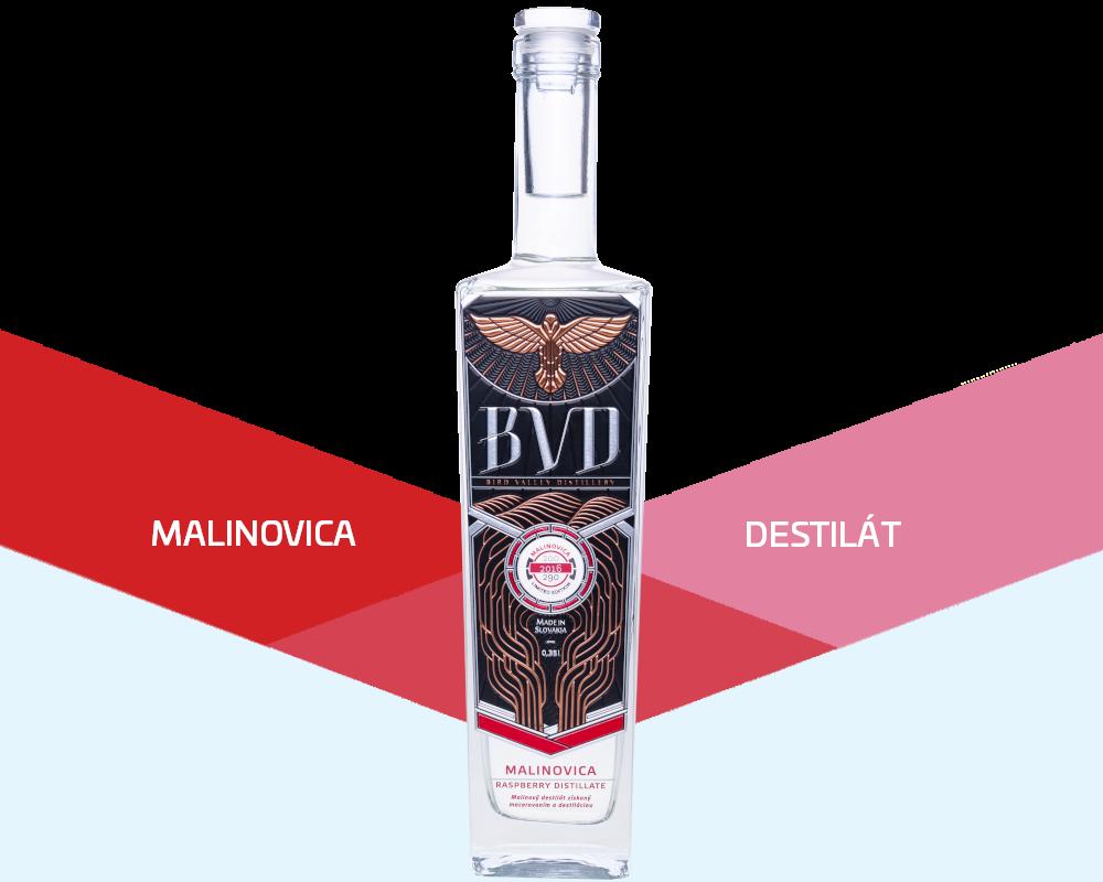 BVD malinovica slovensky destilat